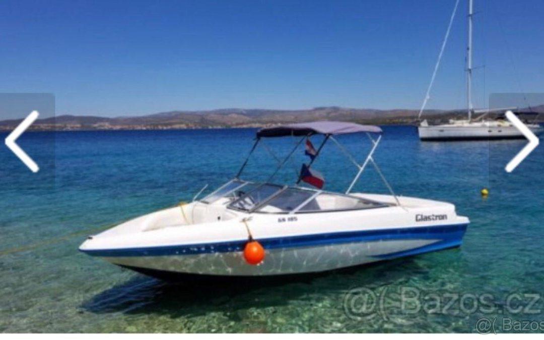 Motorový člun Glastron 185 s motorem 3.0