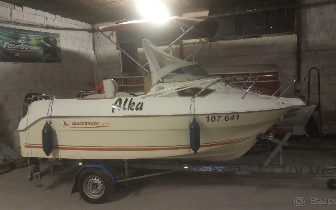 Motorový člun Quicksilver 470