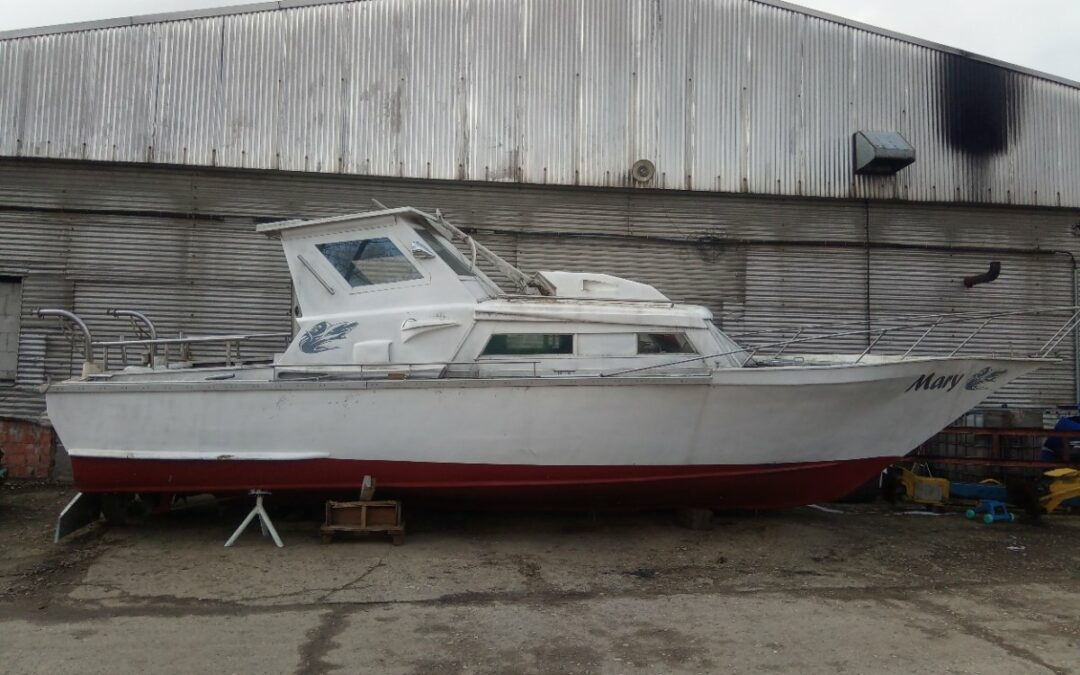 Kajutova loď 11 metrů