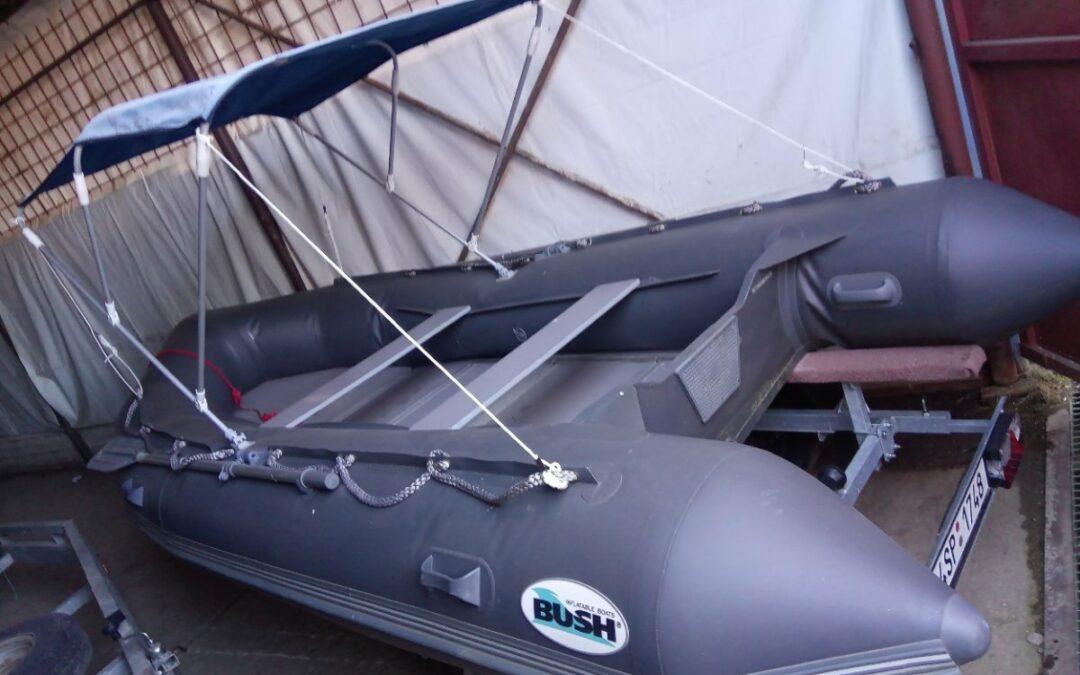 Nafukovací člun Bush 410