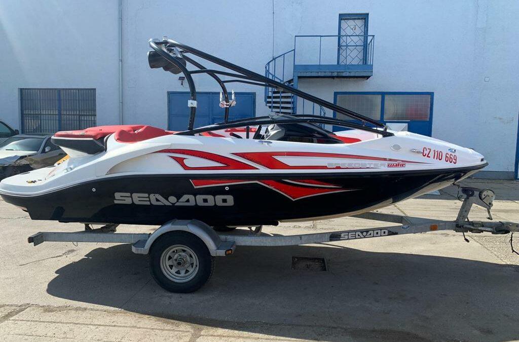 Sea Doo Speedster 430 Wake