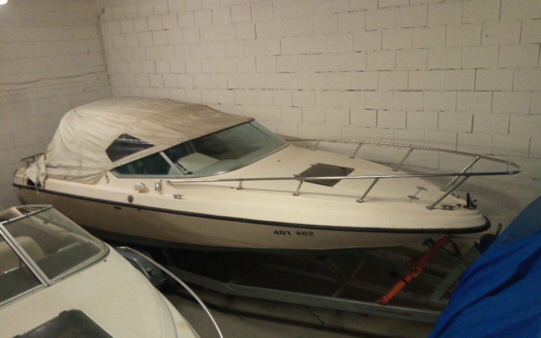 Kajutový motorový člun Gobbi 21