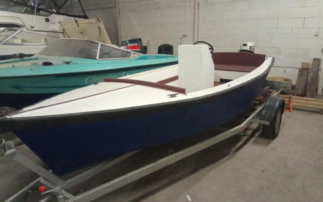 Motorový člun s motorem Honda 7,5